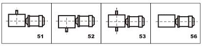 Варианты сборки мотор-редуктора МЧ-125
