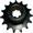 Полузвездочка ККУ.03.601 (Z=15, t=25, шлиц)