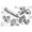 Вал привода битеров ПРТ 10.02.608/ПРТ 10.02.682 (голый)
