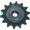 Звездочка z=14,t=25,4 натяжная (Н.206.08.000)