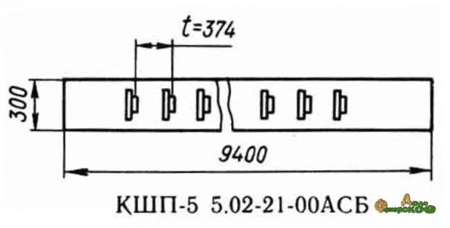 Лента транспортерная 02.21.00 запасная часть к Р6-КШП-6