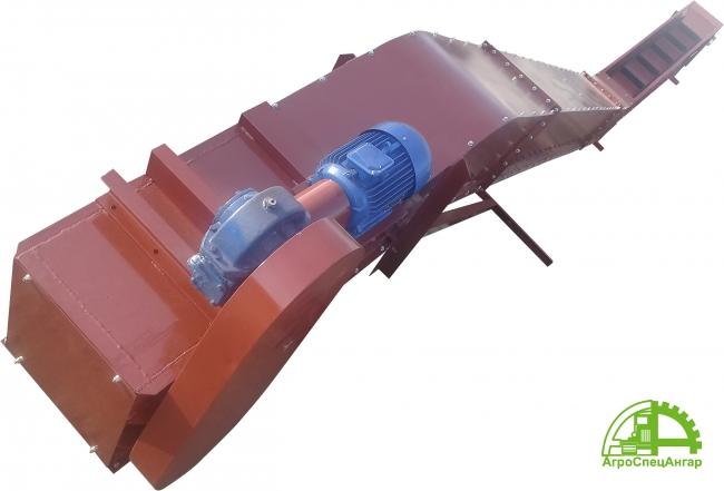 Транспортер цепной скребковый для опилок
