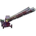 Кинематическая схема транспортера загрузчика картофеля ТЗК-30