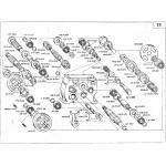 Коробка распределительная. КПИ 01.900А Валы и шестерни