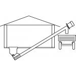 Шнековый транспортер навозоудаления ТШГ-250