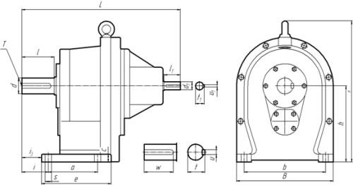 1Ц2С-100 на лапах