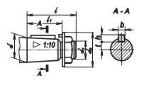 Редуктор РЧУ-40: размеры быстроходного вала