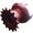 Полузвездочка с шипами ОКР.6-4-1 (Z=15, t=25)