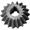Шестерня ЗПН-6011 (Малая Z=18) коническая ведомая редуктора питателя