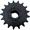 Звездочка КПК 01.12.010 (Z=17, t=25, d=40)