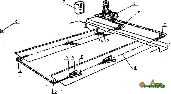 Дельтаскреперная установка УСГ-170/250
