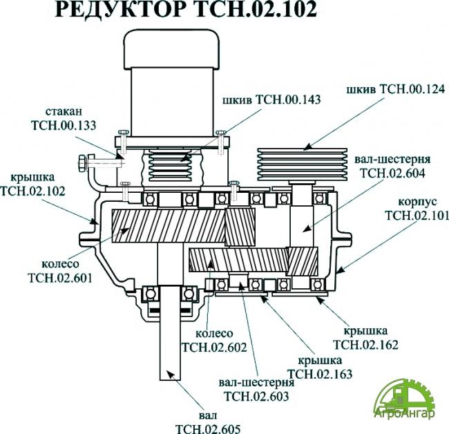 Крышка ТСН-02.102