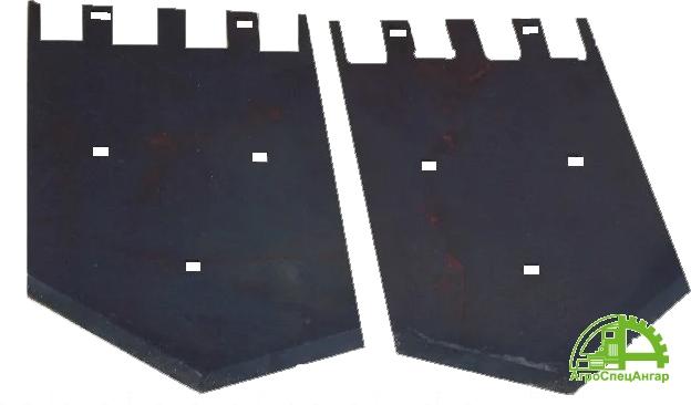 Лемех КСТ-1.4 правый КСА 44.401, лемех КСТ-1.4 левый КСА 44.402