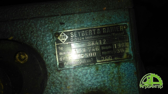 Насос дозирующий Seybert&rahier d-3524