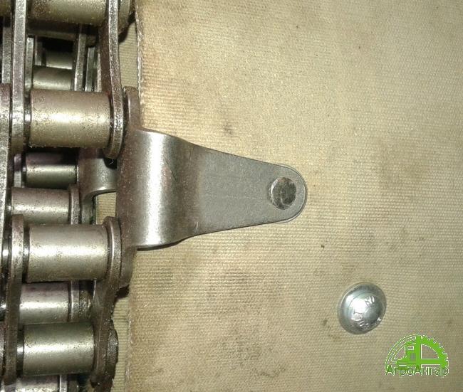 Полотно бункерное ТЗК 04.100 (b=1100 мм, l=5250мм) - одинарная  заклёпка