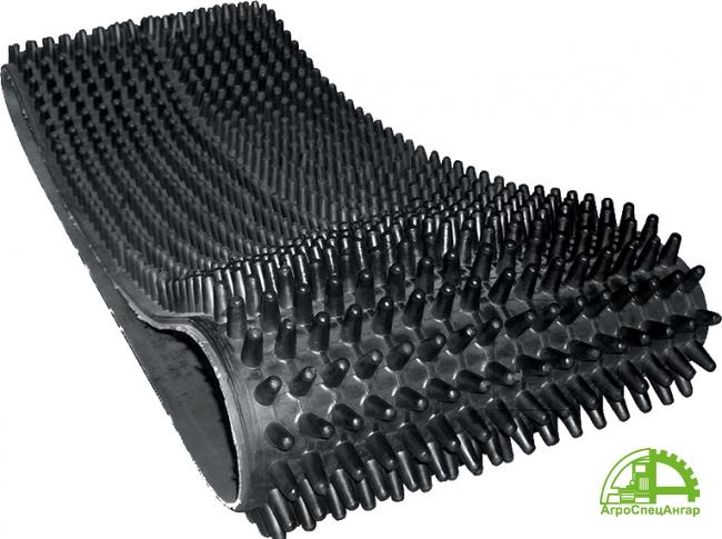 Полотно КПК 0600002-01 с резиновыми пальцами узкое