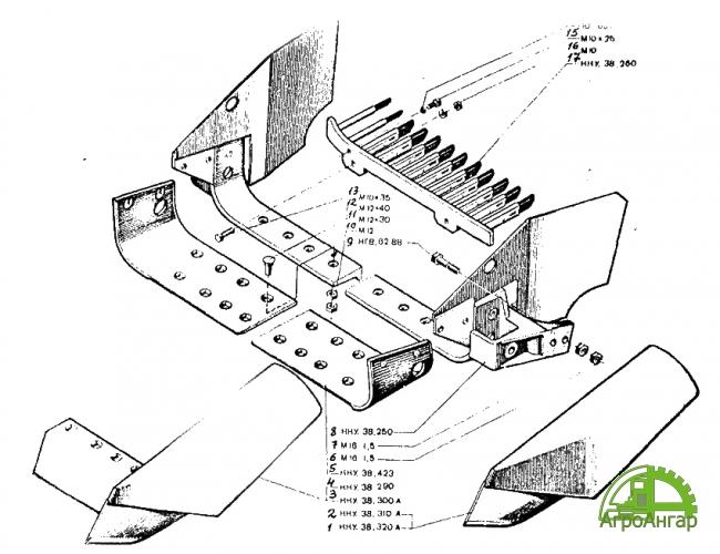 Решетка ККУ.38.260