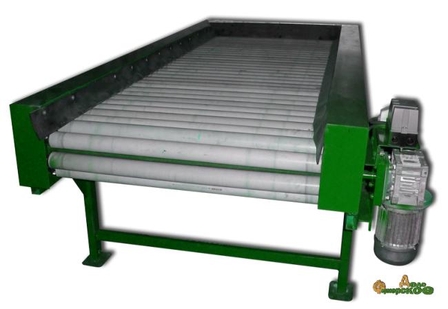 Роликовый инспекционный стол 1000х2500