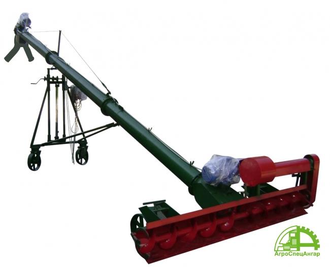 Шнековый перегрузчик У10-ПКВ с питающими шнеками загрузка вагонов