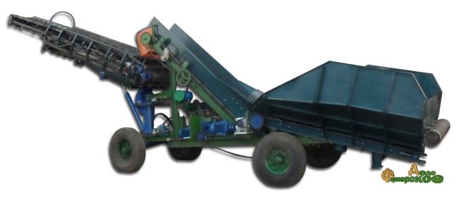 Транспортер-загрузчик картофеля ТЗК-30А-1 с телескопической стрелой