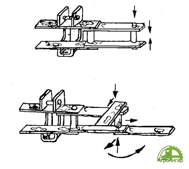 Транспортер навозоудаления ТСН-3, 0Б