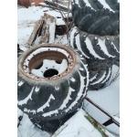 Арочные шины Я-170А 1140-700 с дисками