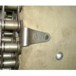 Полотно бункерное ТЗК 04.100 (b=1100 мм, l=5250мм) - двойная заклёпка