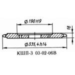 Звездочка 03.02.06 z-40, шаг t-25.4 Р6-КШП-6