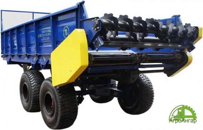 Машина для внесения органических удобрений ПРТ-7