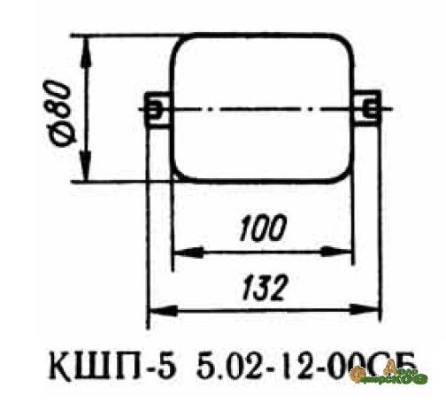 Ролик опорный нижний 02.12.00 запасная часть к Р6-КШП-6
