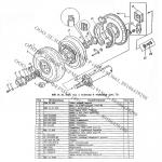 Диск ходового колеса КПК-2-01